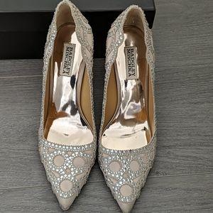 Badgley Mischka Rouge LA crystal heels